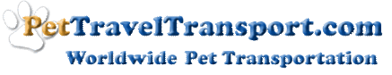 Pet Travel Transportion Logo
